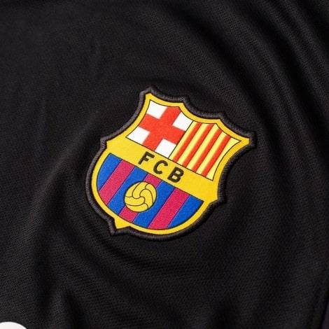 Вратарская гостевая футболка Барселоны 2018-2019 герб клуба