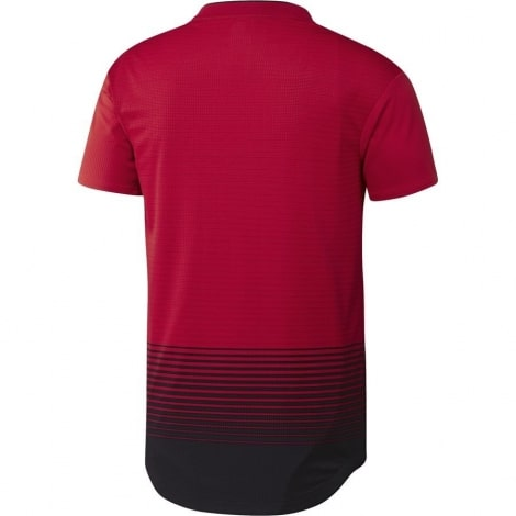 Домашняя игровая футболка Манчесетр Юнайтед 2018-2019 сзади