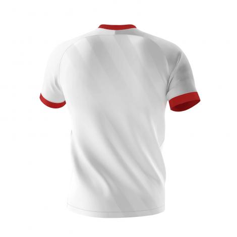 Комплект детской домашней формы Севильи 2020-2021 футболка сзади