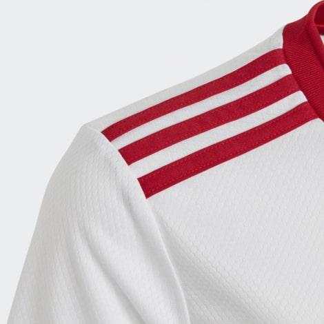 Домашняя футбольная форма Арсенала 2016-2017 эмблема