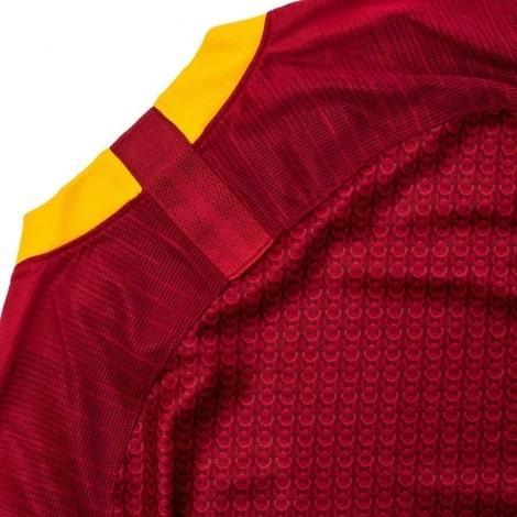 Домашняя игровая футболка Ромы 2018-2019 сзади