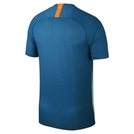 Третья игровая футболка Атлетико 2018-2019 сзади
