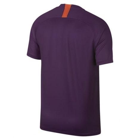 Взрослая футболка третья Манчестер Сити 2018-2019 сзади
