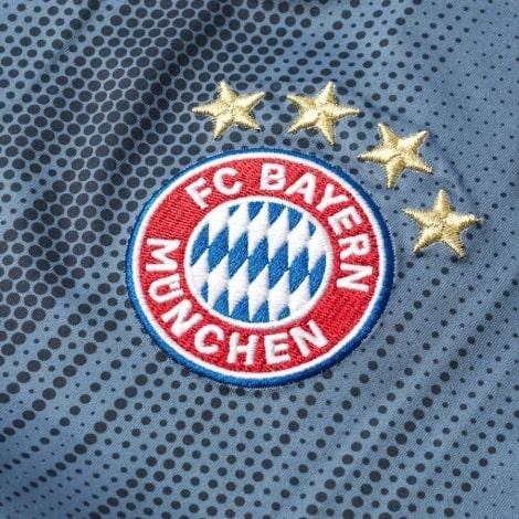 Третья игровая футболка Баварии 2018-2019 герб клуба