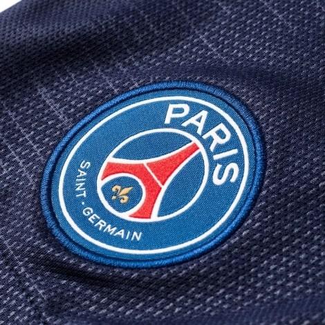 Детская домашняя футбольная форма Неймар номер 10 герб клуба на шортах