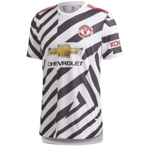 Третья аутентичная футболка Манчестер Юнайтед 2020-2021