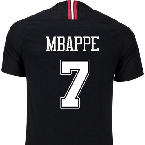 Домашняя футболка ПСЖ 2018-2019 Мбаппе номер 7 JORDAN