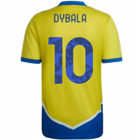 Детская третья футбольная форма Дибала 2021-2022