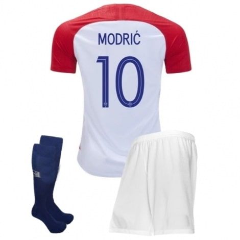 Детская домашняя форма Хорватии Модрич ЧМ 2018