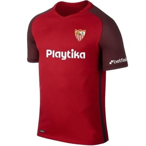 Гостевая игровая футболка Севилья 2018-2019