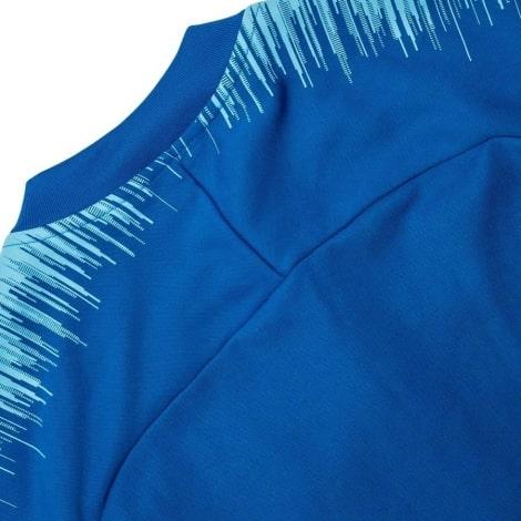 Взрослый синий костюм Атлетико Мадрид 18-19 кофта сзади