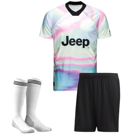 Взрослая радужная форма EA Ювентуса 2018-2019 футболка шорты и гетры