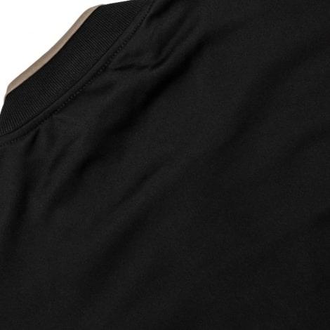 Взрослый черный костюм Ювентуса 18-19 кофта сзади
