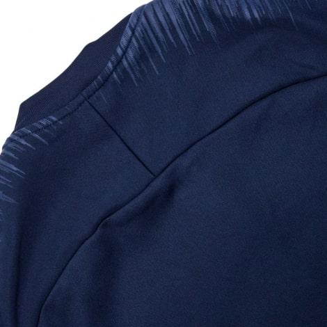 Взрослый синий костюм ПСЖ 18-19 кофта сзади