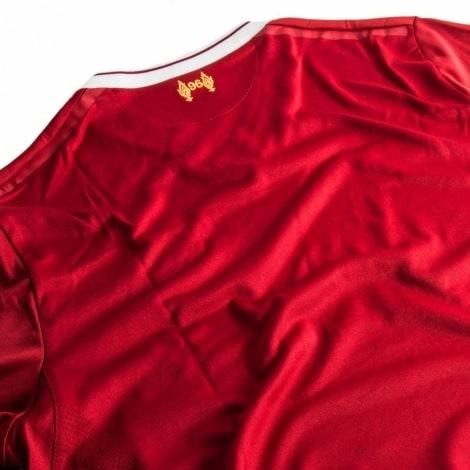 Домашняя футбольная форма Ливерпуль 2017-2018 футболка сзади
