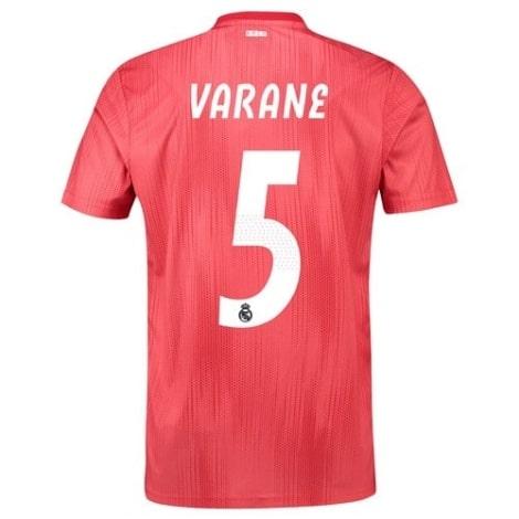 Детская третья футболка Рафаэль Варан 2018-2019