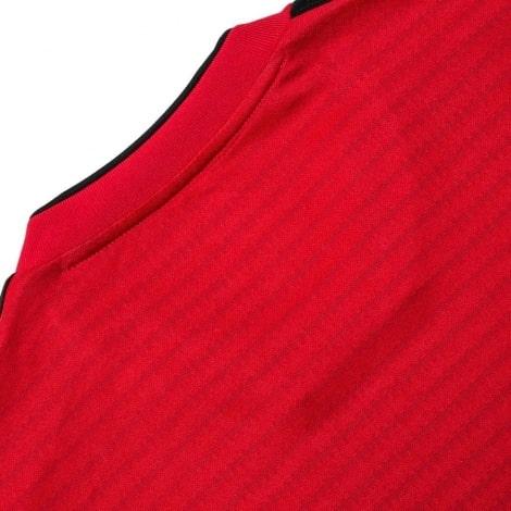 Детская домашняя форма Манчестер Юнайтед 18-19 c длинными рукавами сзади