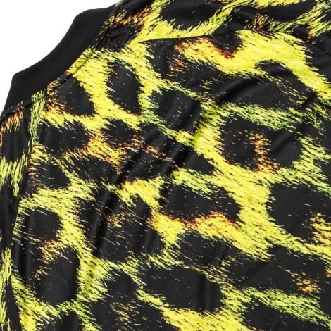 Детская леопардовая форма EA Ман Юнайтед 2018-2019 футболка сзади