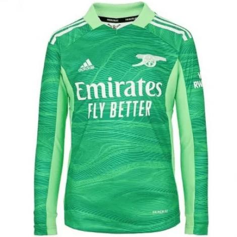 Зеленая форма Бернд Лено с длинными рукавами 2021-2022