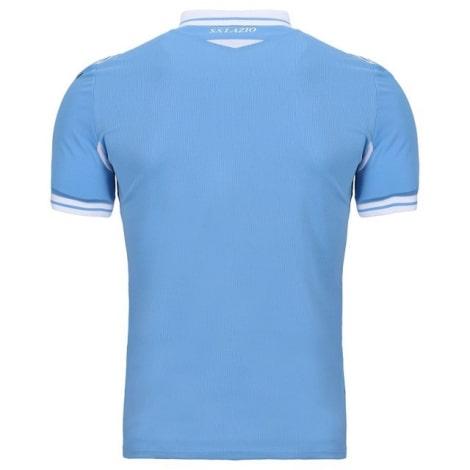 Комплект детской домашней формы Лацио 2020-2021 футболка сзади