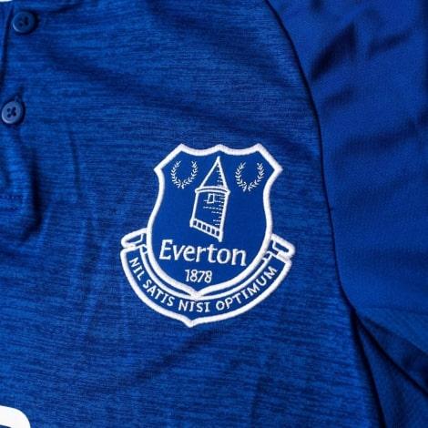Домашняя игровая футболка Эвертон 2018-2019 герб клуба