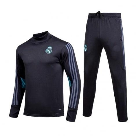 Черный спортивный костюм Реал Мадрид 2017 кофта и штаны