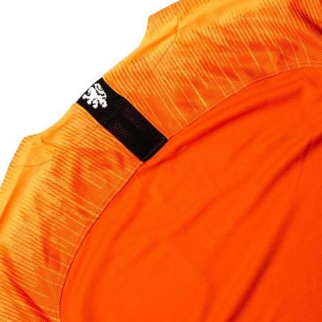 Домашний комплект детской формы Голландии 2019-2020 футболка сзади