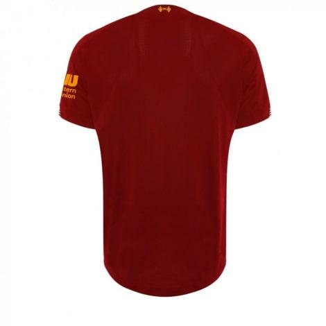 Домашняя игровая футболка Ливерпуля 2019-2020 сзади