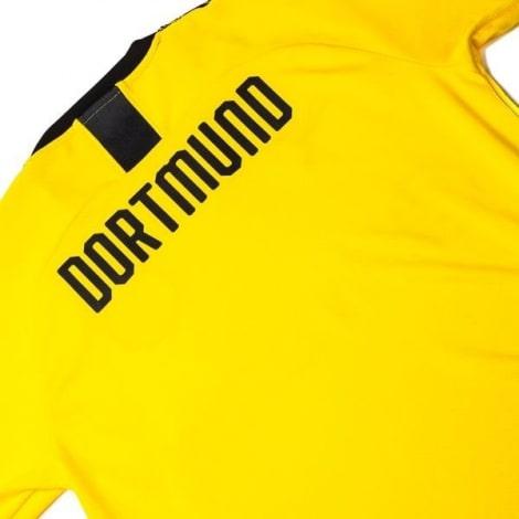 Комплект взрослой домашней формы Боруссии Дортмунд 2019-2020 футболка сзади