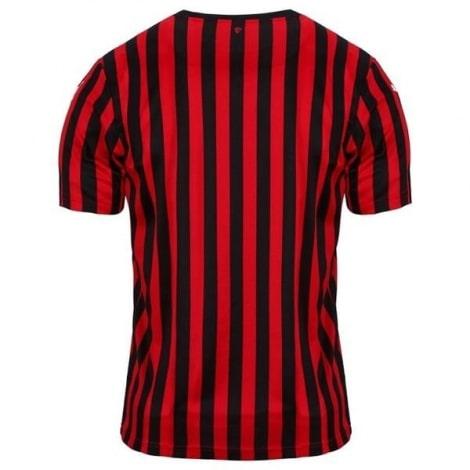 Домашняя игровая футболка Милан 2019-2020 сзади