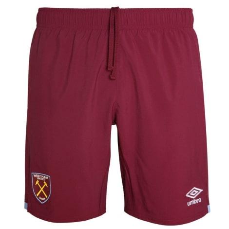 Домашняя игровая футбольная форма Вест Хэм 2019-2020 шорты