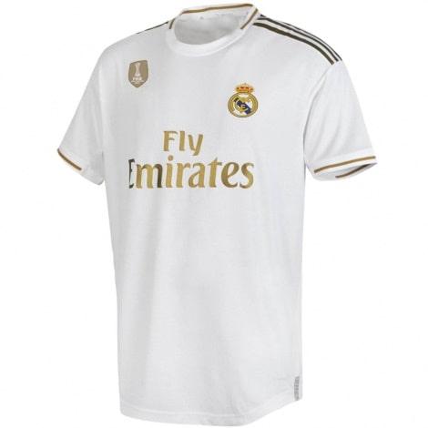 Детская домашняя футбольная форма Эден Азар 2019-2020 футболка спереди