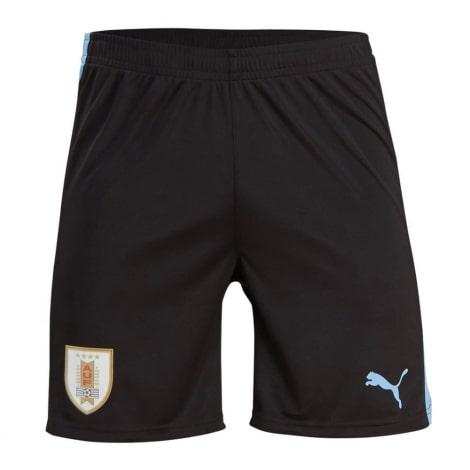 Домашний комплект детской формы Уругвая 2019-2020 шорты