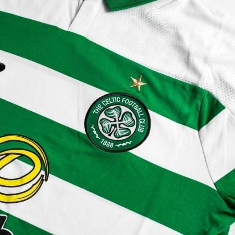 Домашняя игровая футболка Селтик 2019-2020 герб клуба