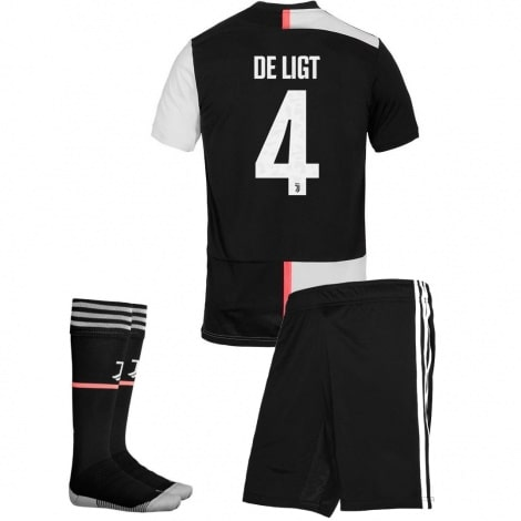 Детская домашняя футбольная форма Де Лигт 2019-2020