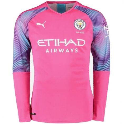 Вратарская третья футболка Манчестер Сити 2019-2020