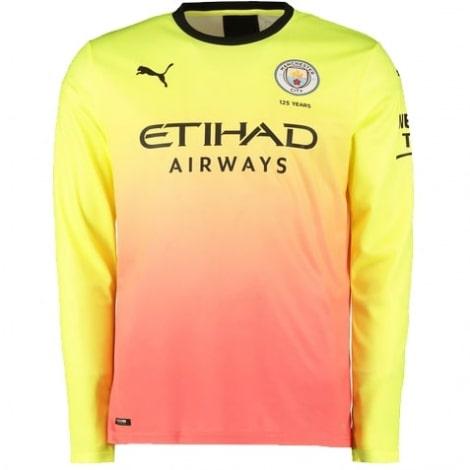 Третья майка Манчестер Сити с длинными рукавами 2019-2020