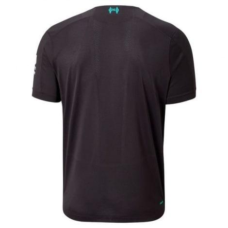 Комплект взрослой третьей формы Ливерпуля 2019-2020 футболка сзади