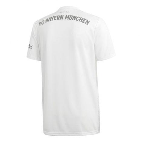 Комплект детской гостевой формы Баварии 2019-2020 футболка сзади