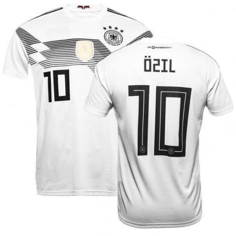 Футболка сборной Германии на ЧМ 2018 Месут Озил номер 10