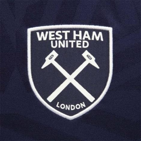 Комплект детской третьей формы Вест Хэм 2019-2020 футболка герб клуба