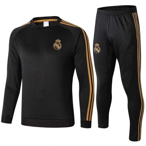 Взрослый черно-золотой костюм Реал Мадрид 2019-2020