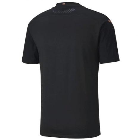 Гостевая аутентичная футболка Манчестер Сити 2020-2021 сзади