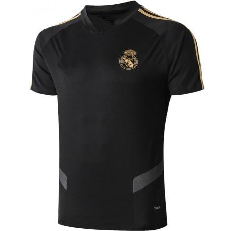 Тренировочная черно-золотая футболка Реал Мадрид 19-20