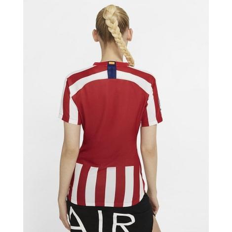 Женская домашняя футболка Атлетико Мадрид 2019-2020 сзади
