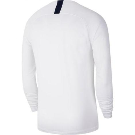 Домашняя форма Тоттенхэма с длинными рукавами 2019-2020 футболка сзади
