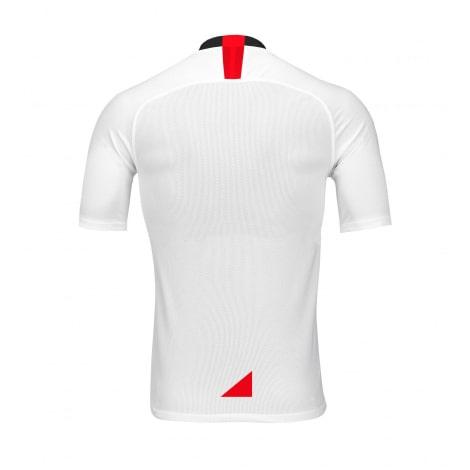 Комплект взрослой домашней формы Севильи 2019-2020 футболка сзади