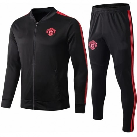 Взрослый черно-красный костюм Ман Юнайтед 2019-2020