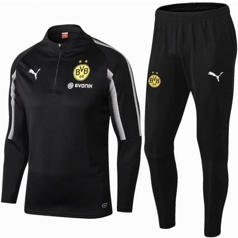 Взрослый черно-серый костюм Боруссии Дортмунд 19-20