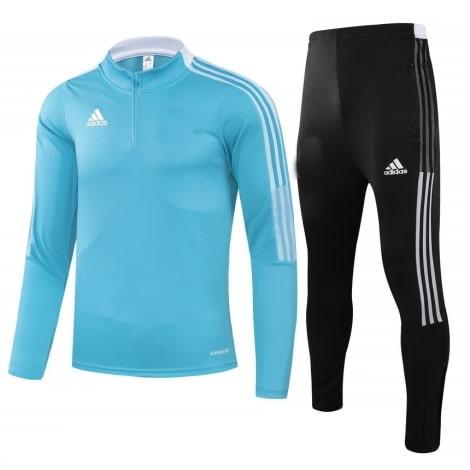 Черно-голубой костюм Реал Мадрид 2021-2022